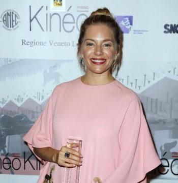 Sienna Miller Premio Kineo